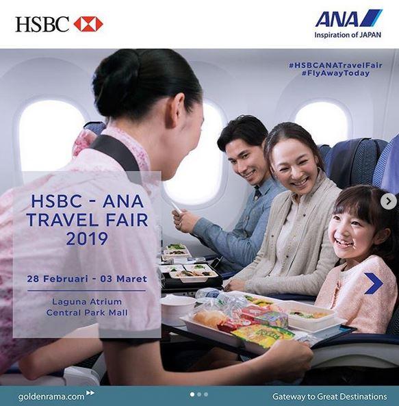 HSBC - Ana Travel Fair 2019 at Central Park - Gotomalls