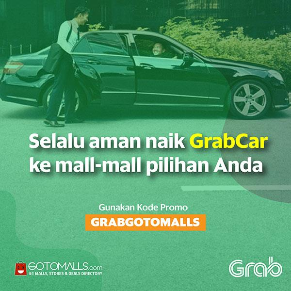 Enjoy Rp 10 000 Discount with GrabCar - Citywalk Sudirman