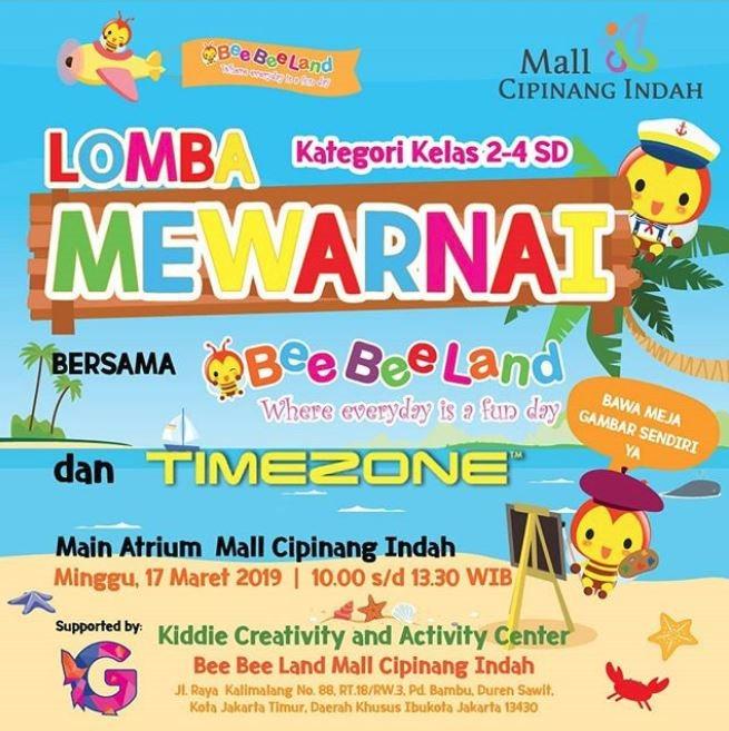 Coloring Competition At Mall Cipinang Indah Gotomalls