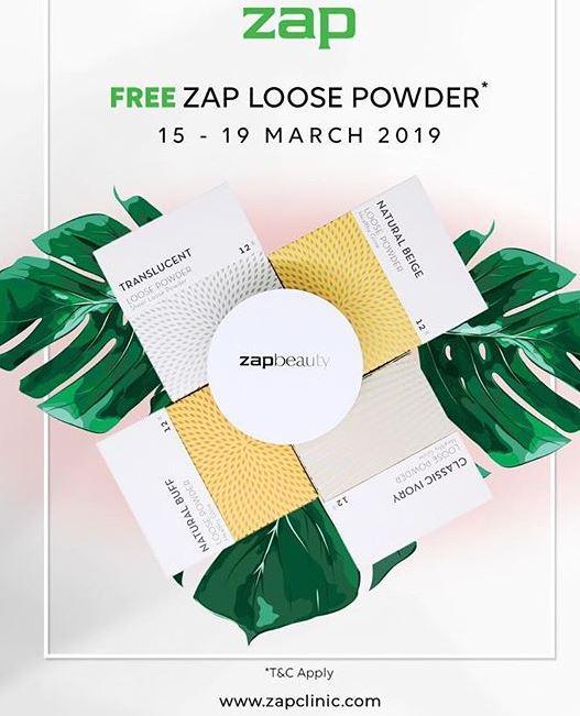 Gratis Zap Loose Powder Di Zap Aeon Mall Jakarta Garden City