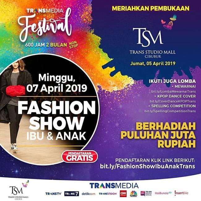 Fashion Show at Trans Studio Mall Cibubur - Trans Studio