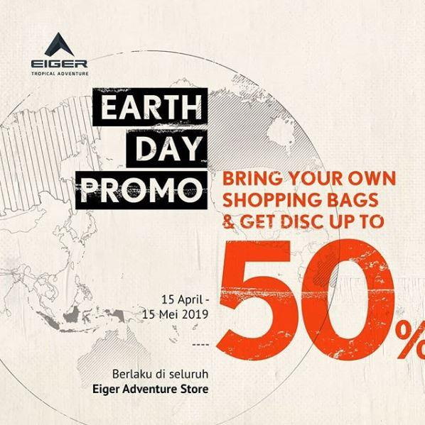 Earth Day Promo Diskon 50 Di Eiger April 2019 Bandung Indah Plaza