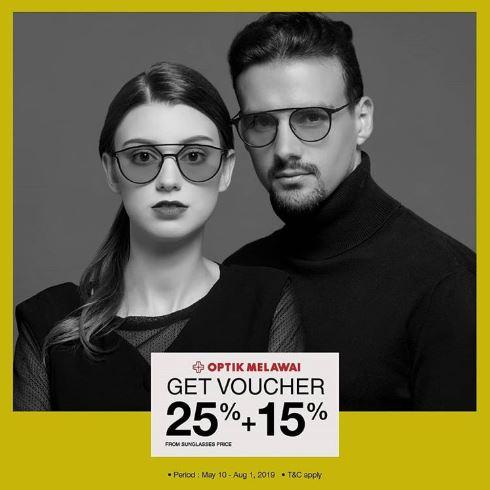 Diskon 25 15 Sunglasses Di Optik Melawai Mei 2019 Level 21 Mall