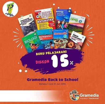 Discount 15% Textbooks at Gramedia - Gotomalls