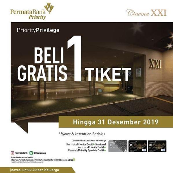 Buy 1 Free 1 Ticket At Cinema Xxi Gotomalls
