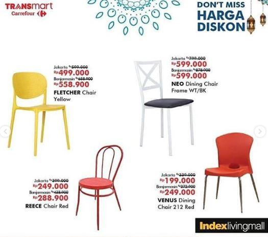 Promo Chair Di Transmart Carrefour Juni 2019 Gotomalls