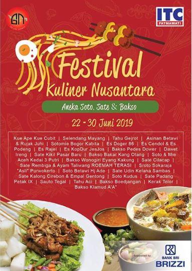 Festival Kuliner Nusantara Di Itc Fatmawati Gotomalls