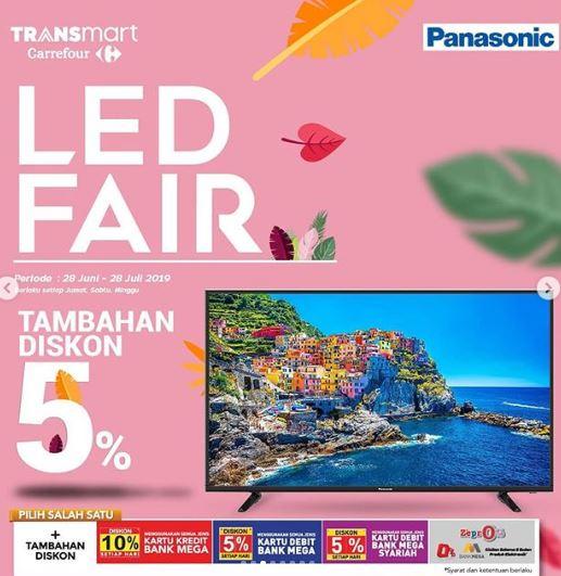 Promo Led Fair Di Transmart Carrefour Juli 2019 Gotomalls