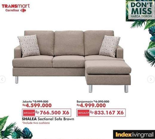 Promo Shalea Sectional Sofa At Carrefour Transmart July 2019 Gotomalls