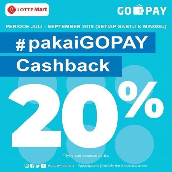Cashback 20 Pakai Go Pay Di Lottemart Juli 2019 Gotomalls