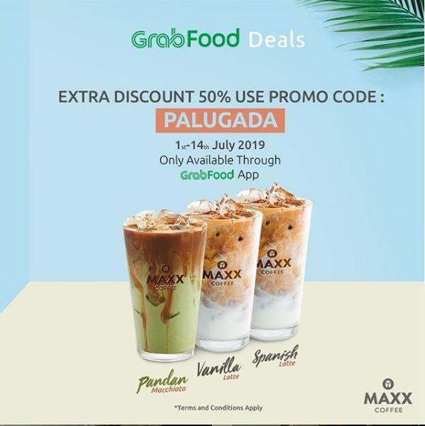 Discount 50% at Maxx Coffee - Gotomalls