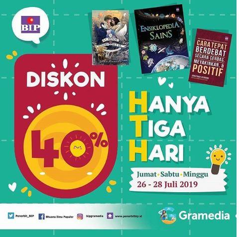 Diskon 40 Buku Non Fiksi Dan Novel Bip Di Gramedia Juli 2019 Gotomalls
