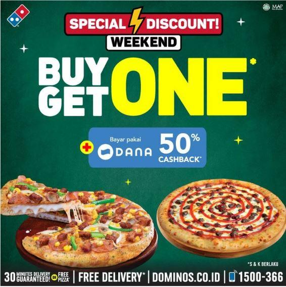 Promo Beli 1 Gratis 1 Di Domino S Pizza Juli 2019 Gotomalls
