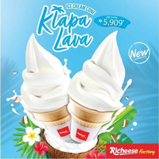 Promo New Ice Cream Di Richeese Factory Agustus 2019 City Of Tomorrow
