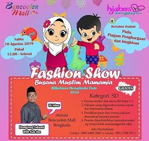 Mamamia Fashion Show Contest at Bencoolen Mall - Gotomalls