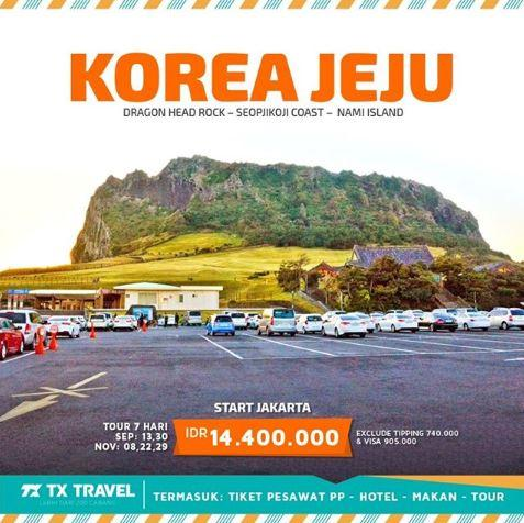 Promo 7 Hari Korea Jeju At Tx Travel Gotomalls