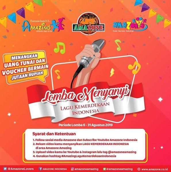 Singing Contest At Amazone August 2019 Ayani Megamall