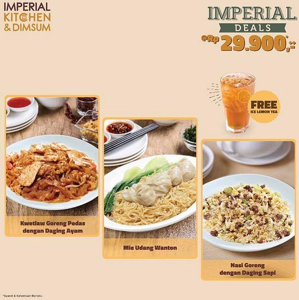 Promo Imperial Deals Rp 29 900 At Imperial Kitchen Transmart