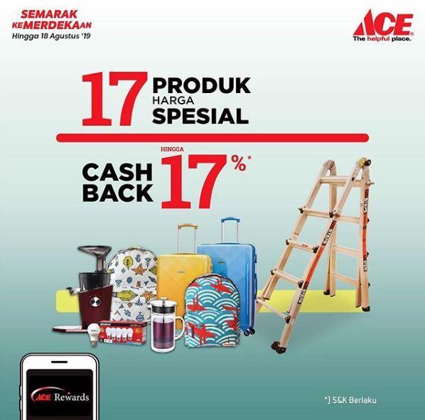 Promo Merdeka Di Ace Hardware Agustus 2019 Grand City Surabaya