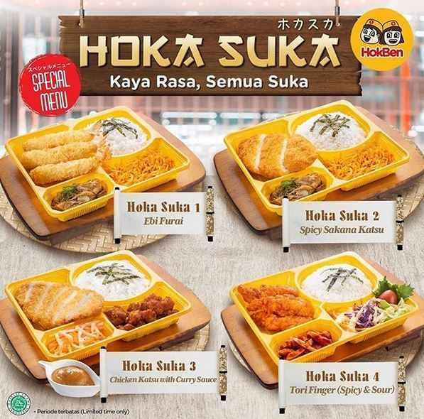 Promo Hoka Suka Rp 52 000 At Hoka Hoka Bento August 2019 Gotomalls