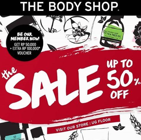Sale Hingga 50 Di The Body Shop Agustus 2019 Aeon Mall Jakarta Garden City