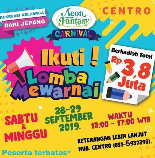 Galaxy Auto Mall >> Lomba Mewarnai Di Centro Galaxy Mall Surabaya Gotomalls
