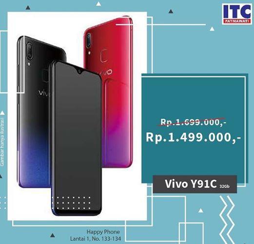 Promo Handphone Vivo Y91c Di Itc Fatmawati September 2019 Gotomalls