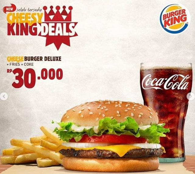 King des monats bei burger king