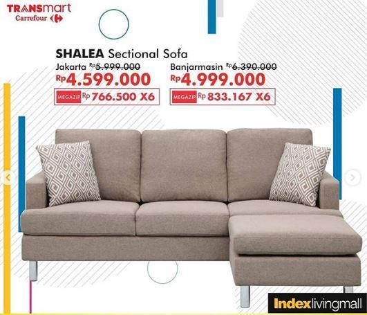 Promo Shale Sectional Sofa At Transmart Carrefour October 2019 Gotomalls