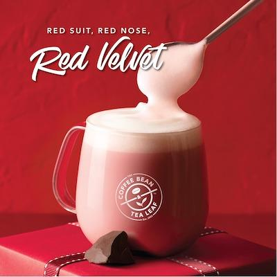 Red Velvet Hot Cocoa At The Coffee Bean Tea Leaf November 2019 Kallang Wave Mall