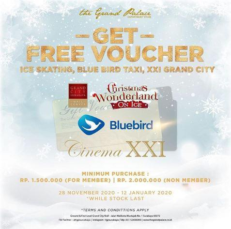 Get Free Voucher at The Grand Palace December 2019 - Gotomalls