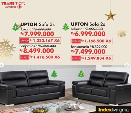 Promo Upton Sofa At Transmart Carrefour December 2019 Gotomalls