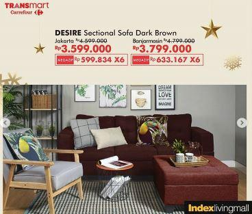 Promo Desire Sectional Sofa At Transmart January 2020 Gotomalls