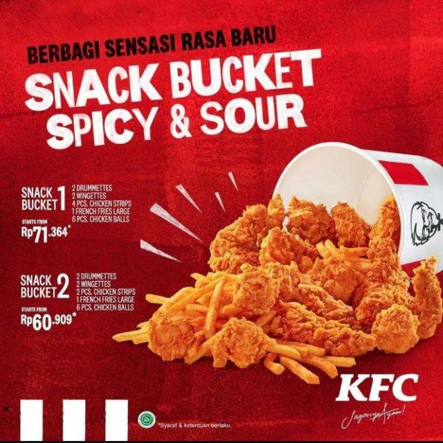 Harga Menu Bucket Kfc Indonesia - Nuring