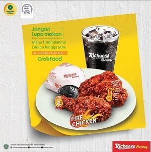 Promo Grab Food Richeese Factory Diskon 50 Khusus Aplikasi Grab Food Di Riccheese Factory Januari 2020 Gotomalls
