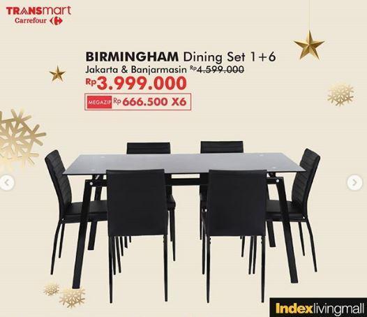 Promo Birmingham Dining Set At Transmart Carrefour January 2020 Gotomalls