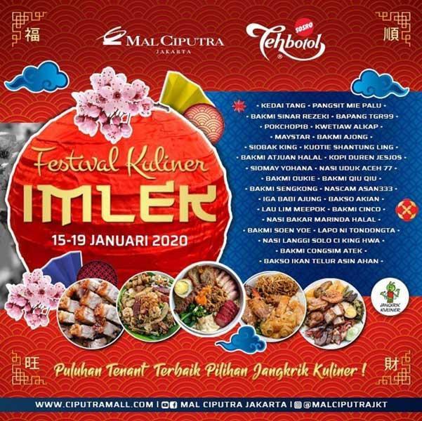 Festival Kuliner Imlek At Mal Ciputra Jakarta January 2020 Gotomalls