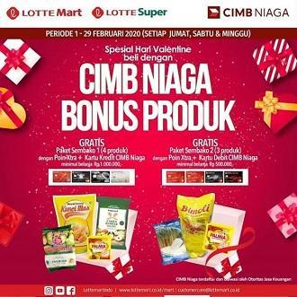 Cimb Niaga Product Bonus At Lottemart February 2020 Centre Point Medan