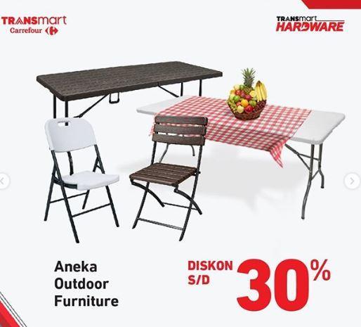 Promo 30 Aneka Outdoor Furniture Di Transmart Carrefour Februari 2020 Gotomalls