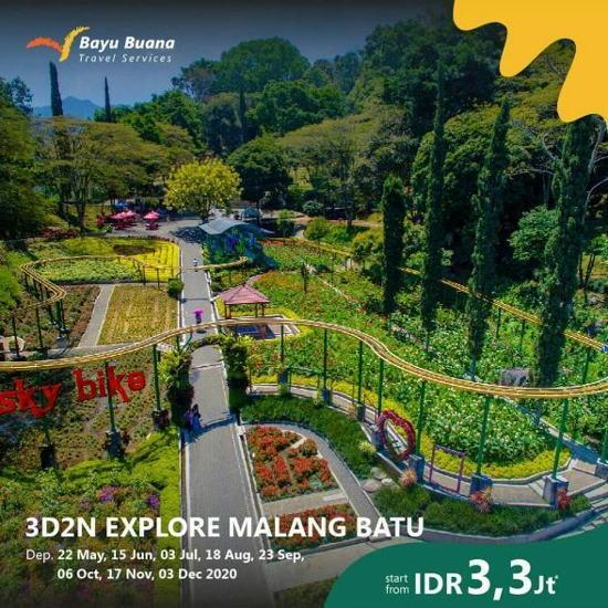 Promo 3d2n Explore Malang Batu At Bayu Buana Travel March 2020 Gotomalls
