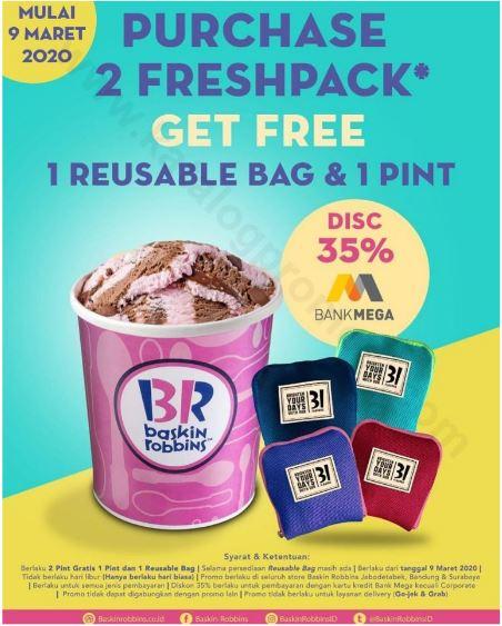 Promo Diskon 50 Di Baskin Robbins Maret 2020 The Bellagio Mall