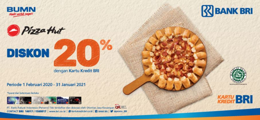 Diskon 20 Dengan Kartu Kredit Bri Mei 2020 Plaza Bintaro