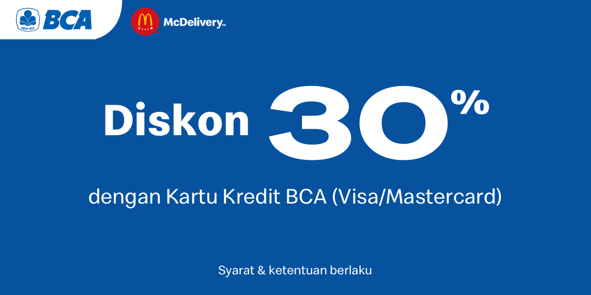 Diskon 30 Dengan Kartu Kredit Bca Juni 2020 Gotomalls