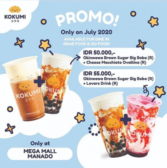 Promo Juli Kokumi Mega Mall Manado Juli 2020 Gotomalls
