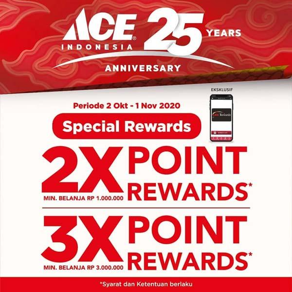 Promo Ace Hardware Anniversary Oktober 2020 Kota Kasablanka