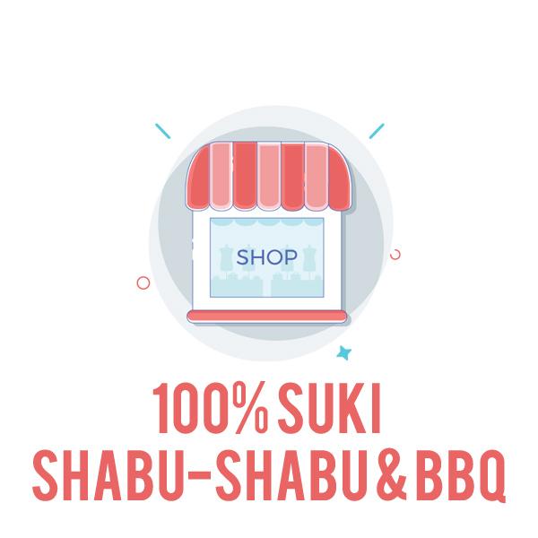 100% Suki Shabu-Shabu & BBQ