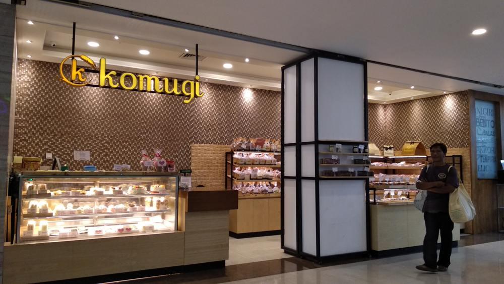 Komugi Boulangerie Plaza Renon Bali Indonesia Gotomalls