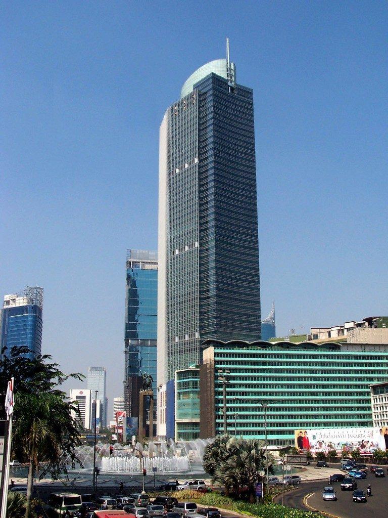Megah dan Kokohny Gedung Tertinggi di Jakarta