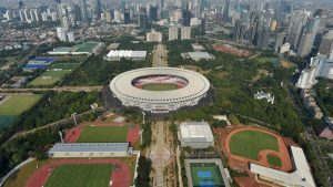 Lahan Parkir Asian Games 2018