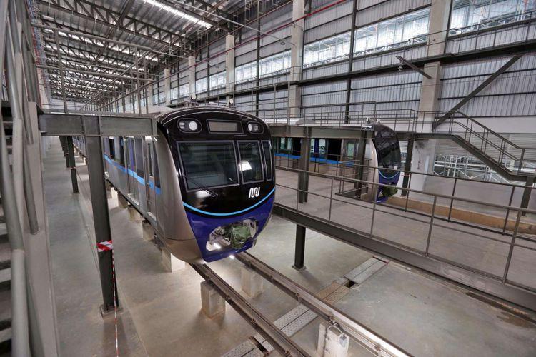 Jadwal Operasional MRT